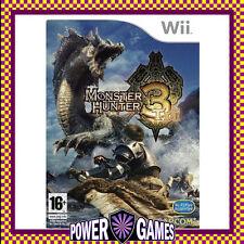 Monster Hunter 3: Tri (Nintendo Wii) Brand New FREE REGISTERED POST