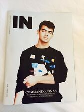 Joe Jonas IN Toronto July 2016 Canada Import Men's Interest Magazine NEW