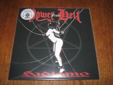 "POWER FROM HELL ""Sadismo"" LP  midnight nunslaughter"