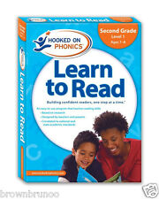 Learn to Read Second Grade Level 1 Hooked on Phonic NEW