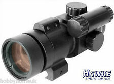 HAWKE SPORT RED DOT GUN RIFLE SIGHT HK3190 1X30 139g - SHOOTING HUNTING