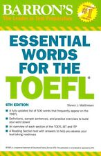 NEW Essential Words for the TOEFL: Test of English as a Foreign Language by Stev