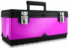 The Original Pink Box PB20MTB 20-Inch Steel Tool Box, Pink New