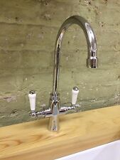 Chrome Mixer Tap , With Ceramic Handles Brand New