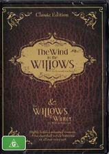 WIND IN THE WILLOWS & THE WILLOWS IN WINTER - NEW REGION 4 DVD FREE LOCAL POST