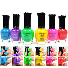 Kleancolor Nail Polish NEON Colors Lot of 6! Lacquer Neon Collection #01