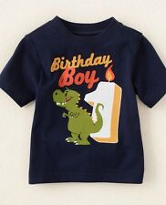 NEW** 1st Birthday 1 Year Baby Boys Graphic Shirt 12-18 Months Gift Blue PARTY