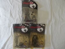 TRIO of SLEEPY HOLLOW Action Figure ICHABOD CRANE Headless Horseman THE CRONE