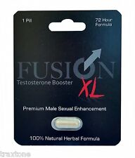 Fusion XL Male Enhancement Pill and Libido booster Sex Pill Long Hard Erections