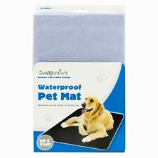 Pet Dog Cat Puppy Waterproof Mat Bed ideal for Home Travels Office 500 x 710mm