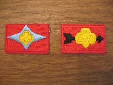 SIGN of the ARROW & STAR Junior Girl Scouts Official Uniform Insignia 1963-80