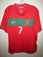 PORTUGAL 2010-11 Nike L home football shirt RONALDO #7 jersey maillot World Cup