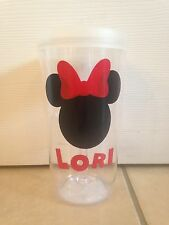 Disney Minnie Mouse Inspired Personalized wine to go Tumbler Fish Extender Gifts