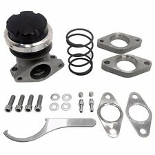 REV9 38MM 2-BOLT RS-SERIES TURBO EXTERNAL WASTEGATE 5-10-15PSI SPRINGS UNIVERSAL