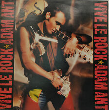 "ADAM ANT - VIVE LE ROCK    LP 12""  (S 432)"