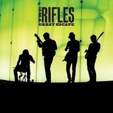 THE RIFLES - GREAT ESCAPE CD ROCK 11 TRACKS NEU