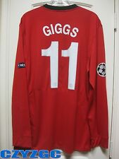 BNWT GIGGS #11 Manchester United 2009/10 Long-Sleeve Home Shirt XXL