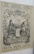SOCIETY PICTURES BY GEORGE DU MAURIER FROM PUNCH  1890  ONE GOLF CARTOON