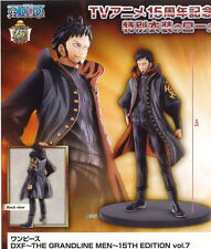 BANPRESTO ONE PIECE DXF GRANDLINE MEN 15TH EDITION TRAFALGAR LAW FIGURE NEW