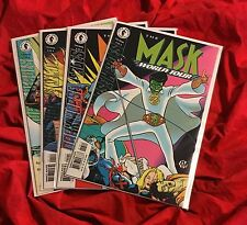 THE MASK WORLD TOUR #1,2,3,4~COMPLETE SET STORY SERIES~ELVIS PRESLEY GHOST~NM