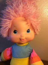 1983 baby rainbow bright pink hair by hallmark