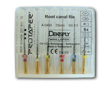 Dentsply Rotary ProTaper Universal Engine NiTi Files 25 mm SX-F3 (4 PACK)