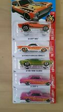 2016 HOT WHEELS HW FLAMES 63 CHEVYII barracuda chevy nova torino talladega
