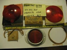 Package of (3) vintage truck 2678A Signal Stat, KD 333 and Stratolite lens refle