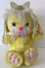 1991 Dreamworks CuddleBrites AmberGlow Fiber Optic Plush Dog Fairy Kei Works