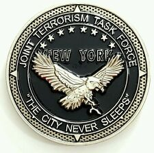 FBI New York NYO Joint Terrorism Task Force JTTF Eagle Challenge Coin not NYPD*