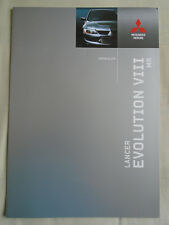 Mitsubishi Lancer Evolution VIII MR brochure May 2004
