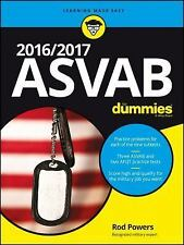 2016/2017 ASVAB for Dummies by Rod Powers (2016, Paperback)