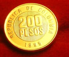 COLOMBIE/COLOMBIA   200 pesos       1995   OR/GOLD PL
