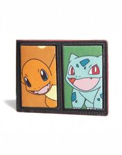 OFFICIAL POKEMON BULBASAUR, CHARMANDER, SQUIRTLE & PIKACHU STARTER WALLET (NEW)