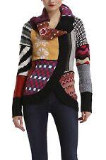 $150DESIGUAL New peony pattern sweater Size S