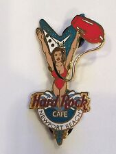 Hard Rock Cafe 2005 Newport Beach CA Sexy Bay Watch Babe In Red Swim Suit Pin