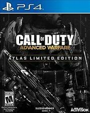 Call of Duty Advanced Warfare Atlas Limited Edition PS4 PlayStation 4