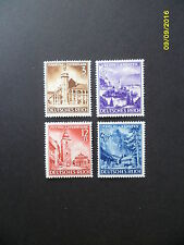 German Third Reich 1941 Stamp Set MNH Annexation of Styria and Carinthia Austria