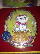 Disney Marie Aristocats A Basket Full Of Fun LE 100 Acme Hot Art Super Jumbo Pin