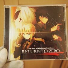 Used_CD RETURN TO ZERO Fate / Zero Original Image Free Shipping FROM JAPAN BZ32