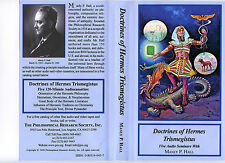Manly P. Hall's COMPLETE ALBUMS Lecture Series - 225 Tapes / 450 hours - 1991