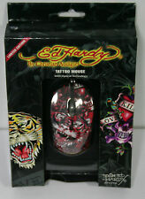 Ed Hardy Limited Edition Tattoo Mouse - Red