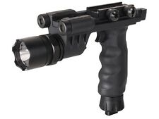 Tactical Vertical Foregrip Flashlight And Green Laser Sight