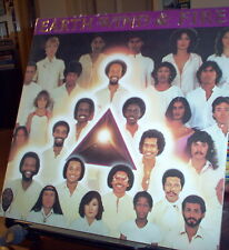 Earth Wind and Fire 1980 Faces x2LP Set Lyrics Sleeves
