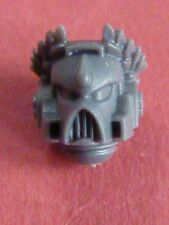 Blood Angel Marine SANGUINARY GUARD MK7 LAUREL HELMET (B) - Bits 40K