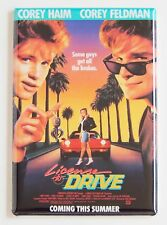 License to Drive FRIDGE MAGNET (2 x 3 inches) movie poster corey haim feldman