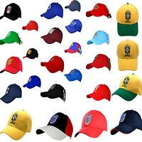 FOOTBALL CLUB CREST ADULT BASEBALL SPORTS PEAK CAP GOLF SUN VISOR & HAT