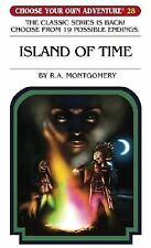 Island of Time (Choose Your Own Adventure #28)-ExLibrary