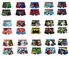 BOYS KIDS SPIDERMAN BATMAN AVENGER HULK TOY STORY BOXER SHORT TRUNK 1pk Age 4-10