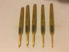 Used Set Clover Crochet Hooks